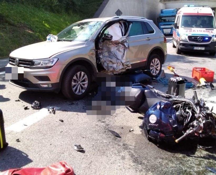 Tczew - Wypadek na DK 91. Nie żyje motocyklista [AKTUALIZACJA] - Wiadomości - Aktualności